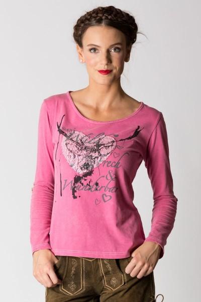 Trachtenshirt Geli, pink