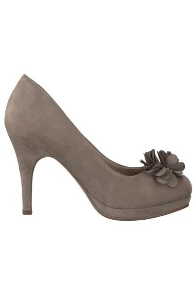 Trachten Schuhe Catherine, hellgrau