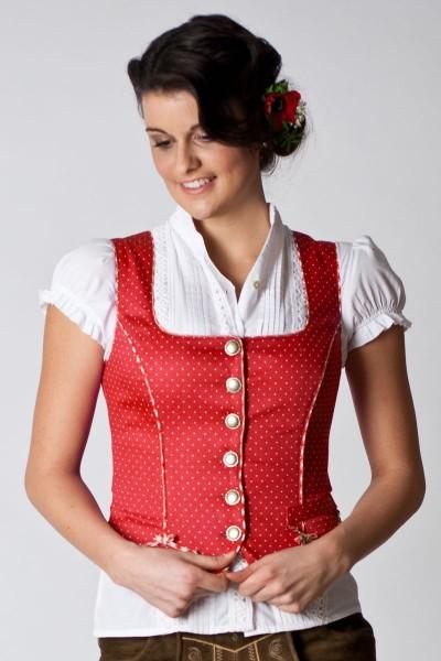 Trachtenmieder Irena, rot