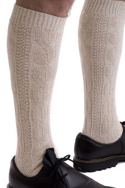 Trachten Socken Starnberg, beige