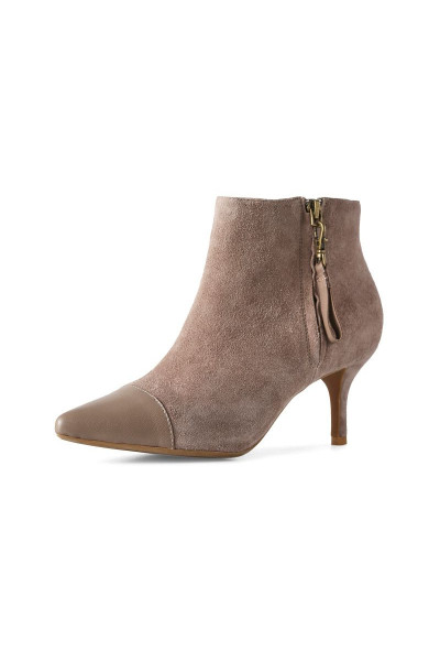 Trachtenschuhe Agnete Mix, taupe