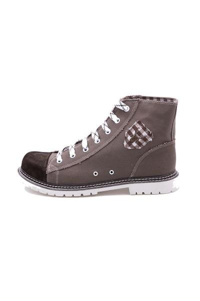 Trachten Schuhe Stefan, braun/dunkelbraun