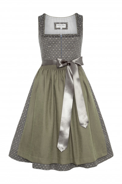 Dirndl Mathilda, grey summer