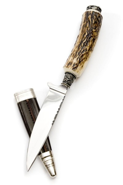 Trachten Messer Hirschkopf