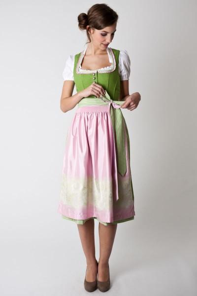 Dirndl Fanny, hellgrün/rosa
