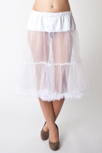 Petticoat Esperanza, weiß