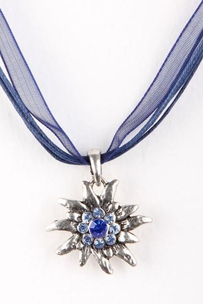Trachtenkette Edelweiß II, dunkelblau