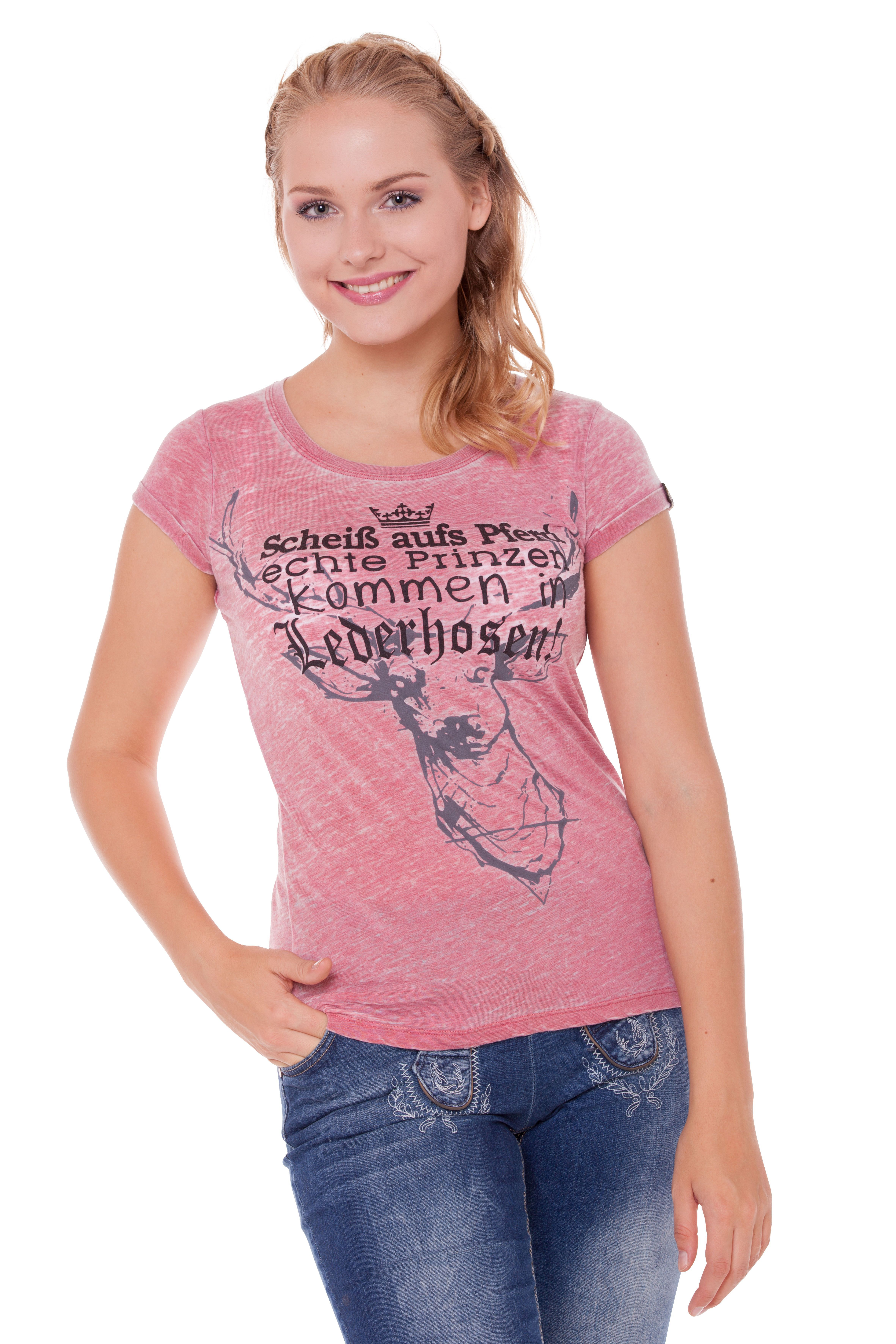 7ad562638438d Women Trachten Shirt Lucy, pink