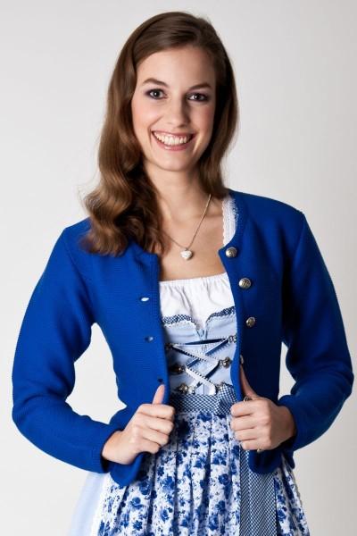 Trachtenjacke Greta, cobaltblau