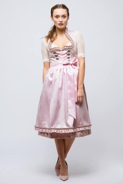 Midi Dirndl Nancy, beige/rosé