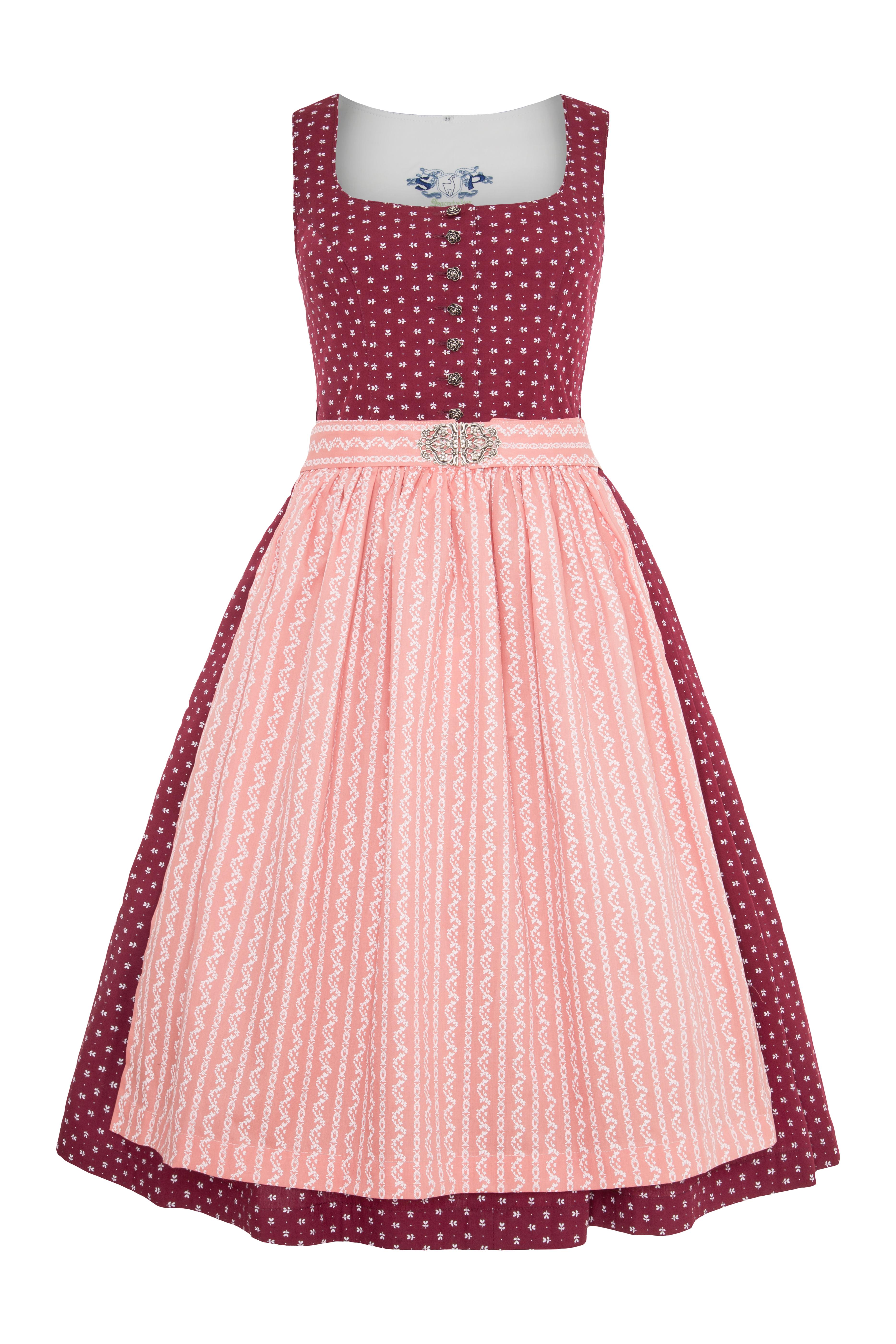 6b054c833f5af2 Midi Dirndl Kitzingen, brombeer/rosa | Gwandlalm | online bestellen
