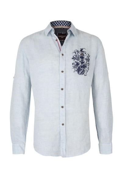 Trachtenhemd Frederik, hellblau