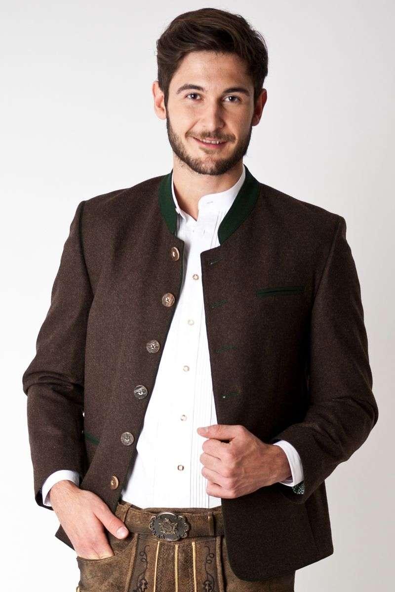 Trachten Jacket Jack, brown