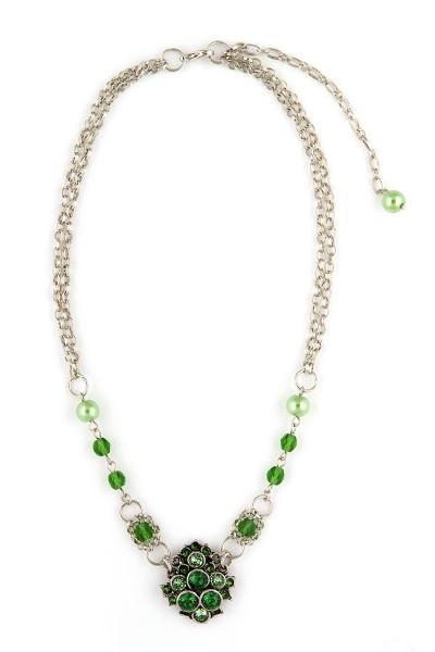 Trachten Halskette Trachtentraum, grün