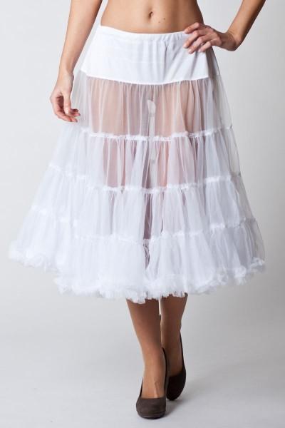 Trachten Petticoat Milena, weiß