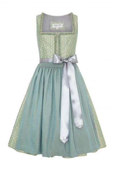 Midi Dirndl Mathilda, green summer