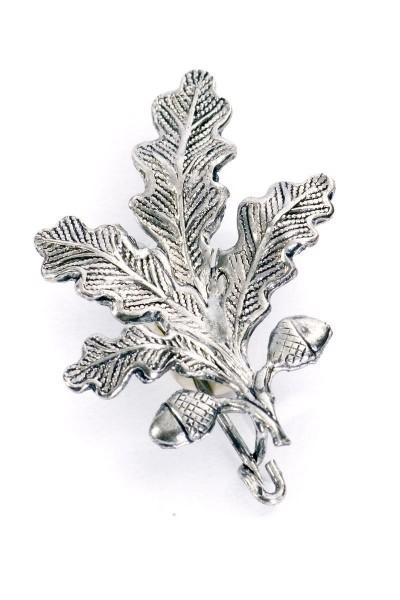 Trachtenanstecknadel Eichenblatt