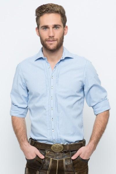 Trachtenhemd Maximilian, hellblau