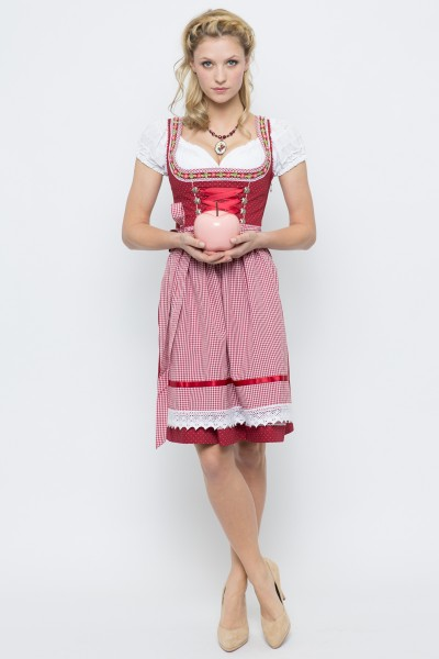 Mini Dirndl Germa, rot
