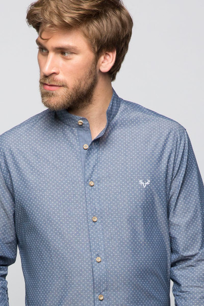 Trachtenhemd Finley, maison blue