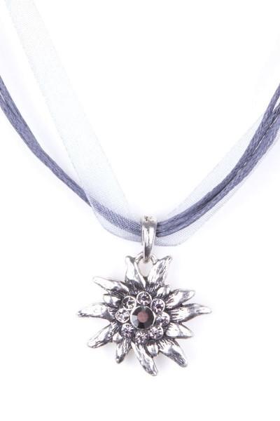 Trachtenkette Edelweiß II, grau