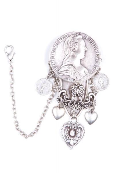 Damencharivari Maria Theresia, silber