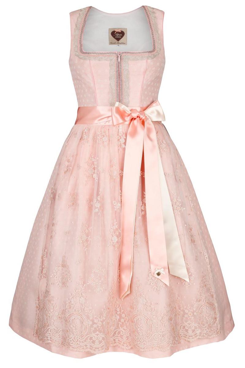 762551a774cfb9 Hochzeitsdirndl Celina, aprikot | Alpenherz | online bestellen