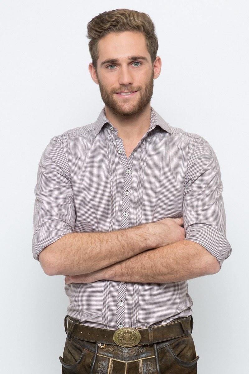 Trachtenhemd Maximilian, braun   OS-Trachten   online