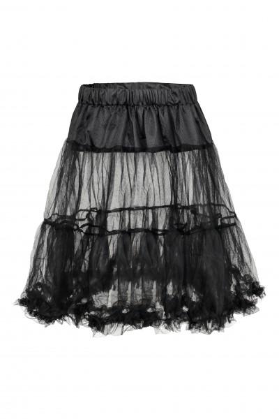 Trachten Petticoat Milena, schwarz