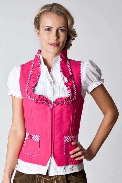 Trachtenmieder Millie, pink