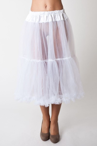 Petticoat Flora, weiß