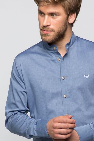 Trachtenhemd Finley, patriot blue