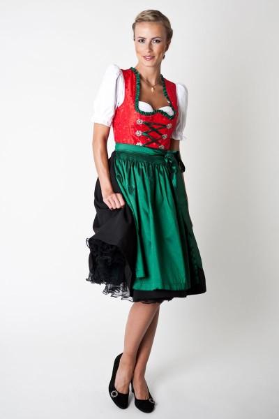 Petticoat Betty, schwarz