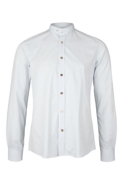 Trachtenhemd Lenz slimfit, iceblue