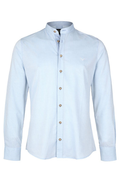 Trachtenhemd Finley, stripe blue