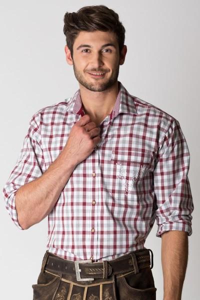 Trachtenhemd Holger, rot