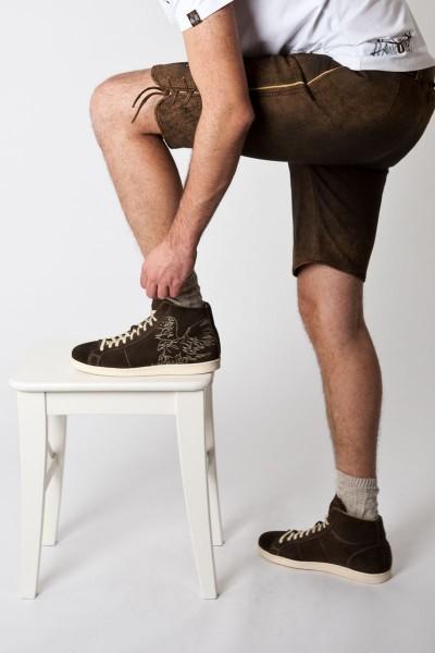 Trachten Schuhe Robin, dunkelbraun