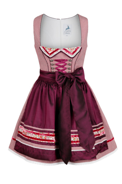 Mini Dirndl Evelyn, violett