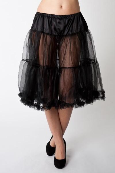 Petticoat Esperanza, schwarz