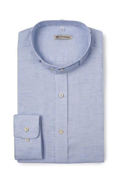 Trachtenhemd Lenz, himmelblau