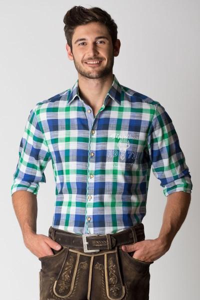 Trachtenhemd Almar, grün