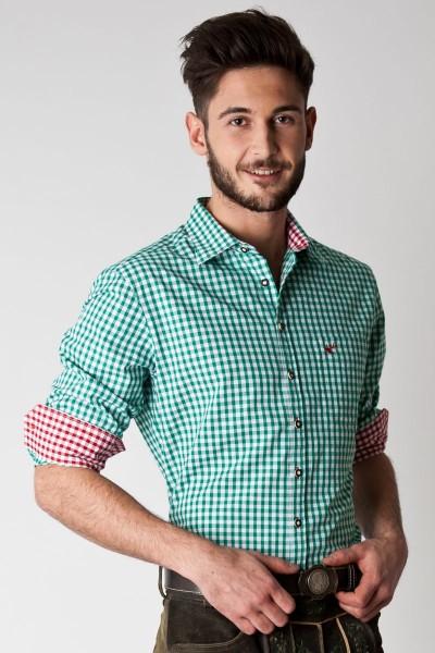 Trachten Hemd Elias, grün