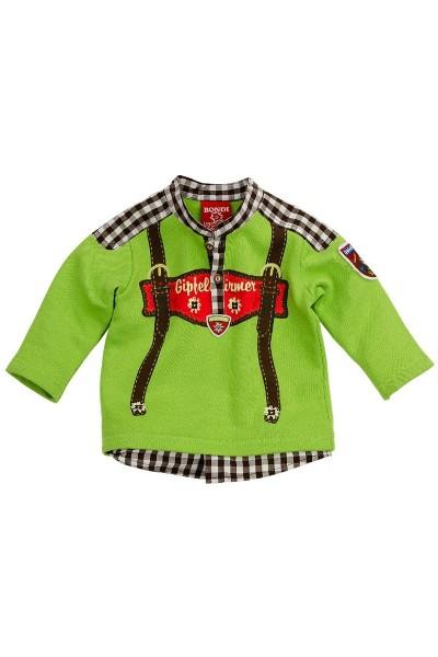 Trachten Shirt Gipfelstürmer, grün