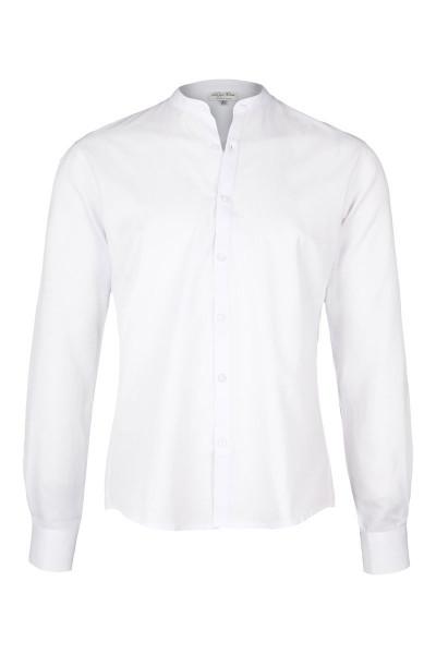 Trachtenhemd Karl, weiß-streif