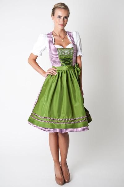 Dirndl Beatrice, beere/grün