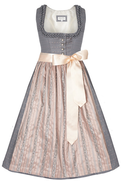 Dirndl Bogenhausen Beauty, anthrazit