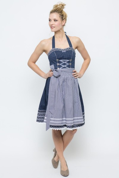 Mini Dirndl Karina, blau