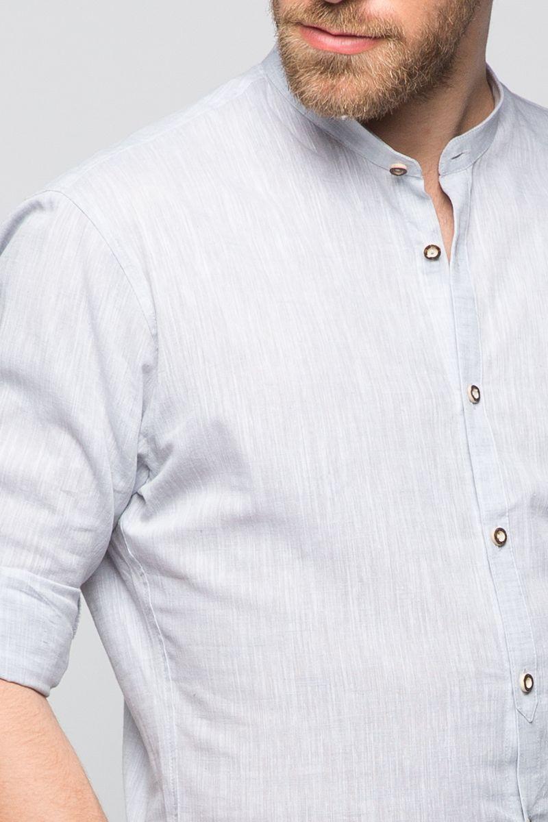 Trachtenhemd Leon Grau
