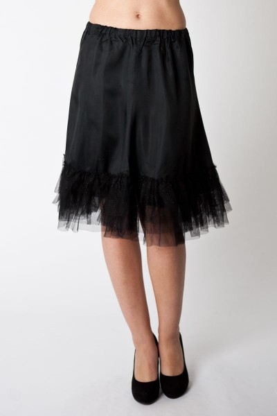 Petticoat Zoey, schwarz