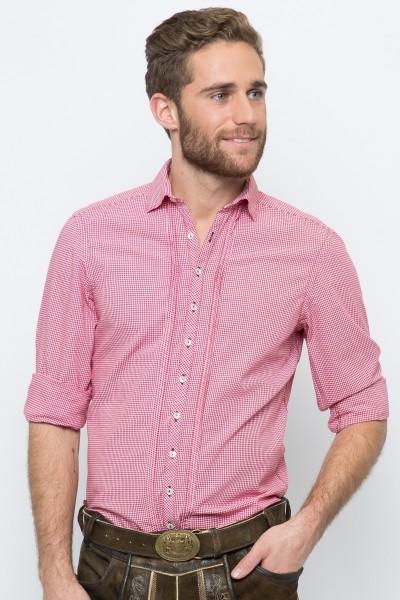 Trachtenhemd Maximilian, rot